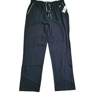 Nautica Sleepwear Black Anchor pants Size Large